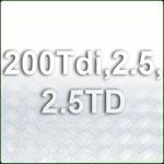 200 Tdi & 2.5 N/A & TD