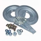 Galvanised Rear Spring Seat Fitting Kit - See info