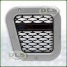 XS LH Air Intake Grille Silver with Black Mesh - Defender