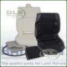 Outer Seat Re-trim Kit BLACK MESH w/o Adhesive - Defender to 2007
