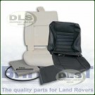 Outer Seat Retrim Kit Twill w/o Adhesive - Defender to 2007