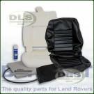 Outer Seat Re-trim Kit BLACK VINYL c/w Adhesive - Defender to 2007