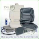 Outer Seat Re-trim Kit GREY VINYL c/w Adhesive - Defender to 2007