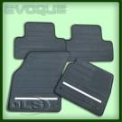 Rubber Mat Set of 4 Rhd Evoque