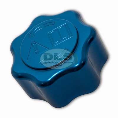 Anodised Aluminium Expansion Tank Cap - Blue