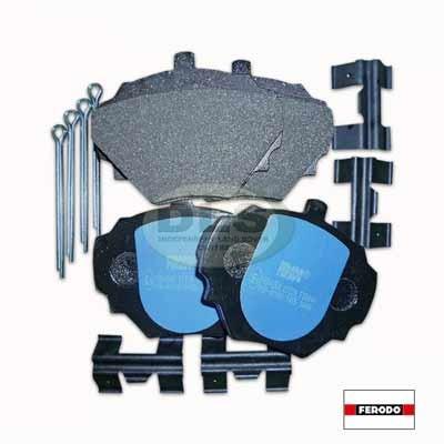 Brake Pad Set Rear FERODO