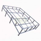 Roof Rack Contoured Expedition style Galvanised - SWB and Defender 90