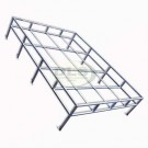 Roof Rack Flat Expedition style Galvanised - SWB and Defender 90