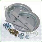 Galvanised Rear Spring Seat Fitting Kit 110/130