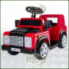 6Volt Children's Sit On Electric Land Rover Defender Red DA1520