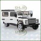 12Volt Childrens Ride On White Land Rover Defender