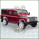 12 Volt Childrens Ride On Red Land Rover Defender DA1524