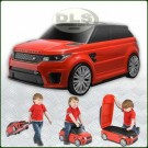 Children's Range Rover Sport SVR Ride On Suitcase Red DA1836
