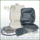 Outer Seat Re-trim Kit GREY VINYL w/o Adhesive - Defender to 2007