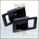Door Handle Surround Set Alloy Black - Defender