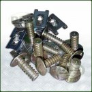Floor Panel Screws and Clips - Bag of 10