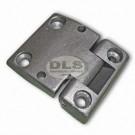 Door Hinge LH with mirror holes - Series 3 & Def to VIN WA138479