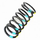 Front Coil Spring Passenger Side Std - Defender 90 Blue/Yellow