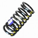 Passenger Side Rear Coil Spring Heavy-duty Yellow/White - Defender 90
