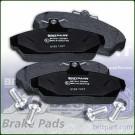 Brake Pad Set Front BritpartXD Land Rover Freelander 1 to VIN YA999999 SFP100360