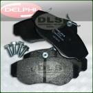 Brake Pad Set Front Delphi Discovery 2, Range Rover P38 SFP500120